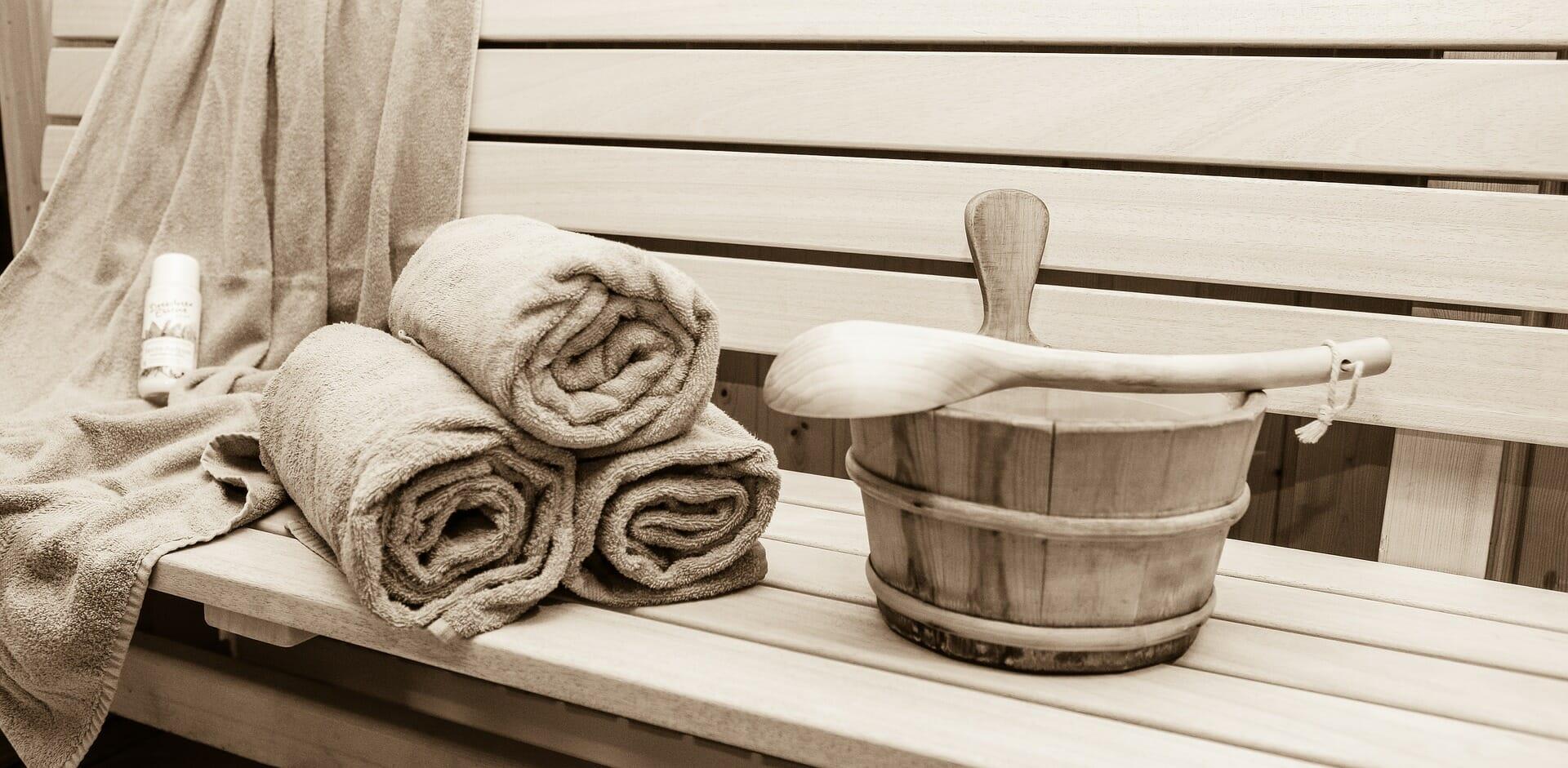 Fínska sauna je ideálnym miestom na celkovú regeneráciu