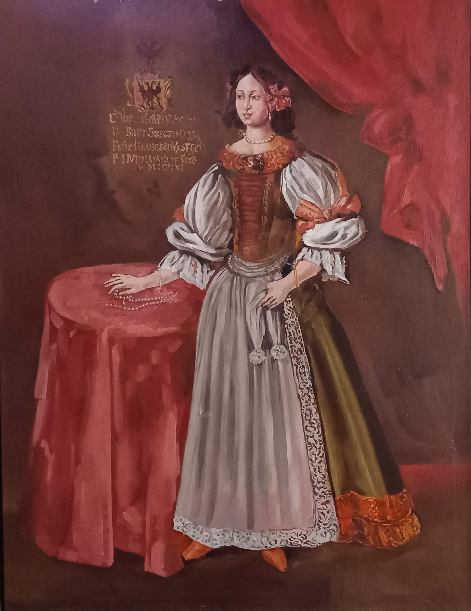 Grófka Mária Séči