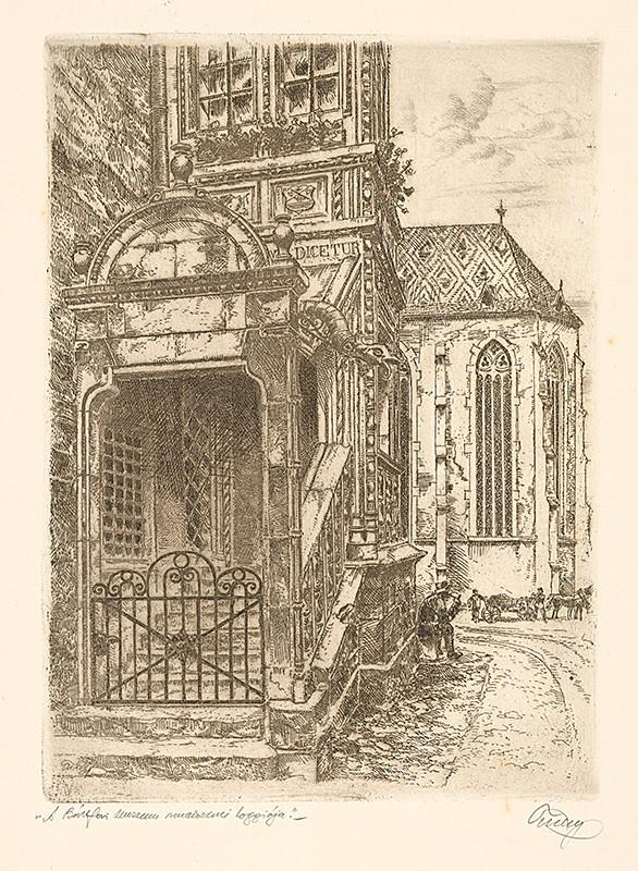 Koloman Tichý – Múzeum v Bardejove, lept