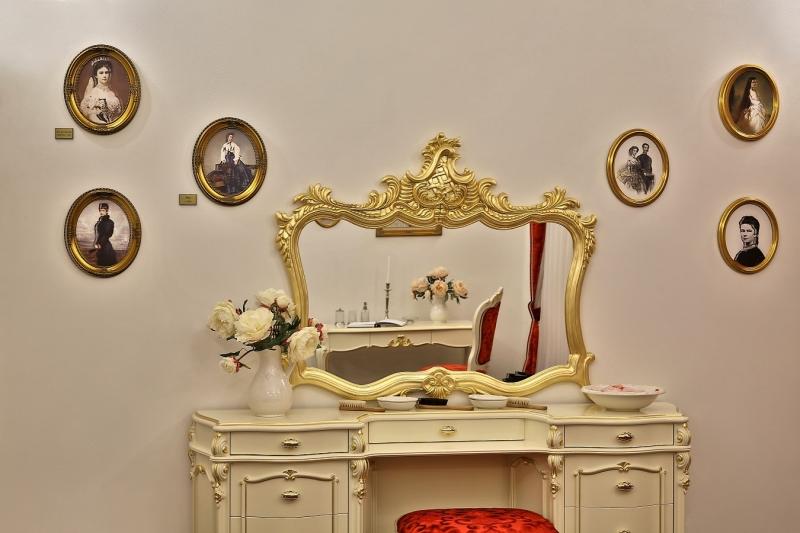 Muzeálny apartmán Sisi v Bardejovských Kúpeľoch – interiér