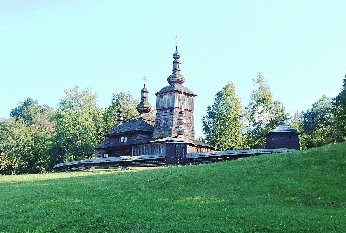 Chrám sv. Paraskevy v skanzene, Svidník