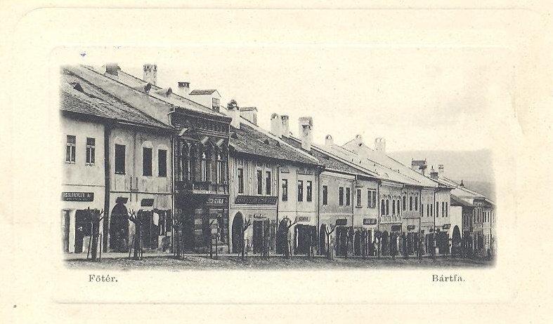 Bardejov na historickej pohľadnici