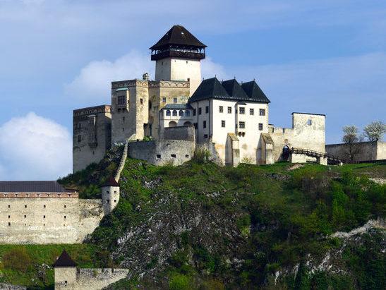 Pohľad na Trenčiansky hrad