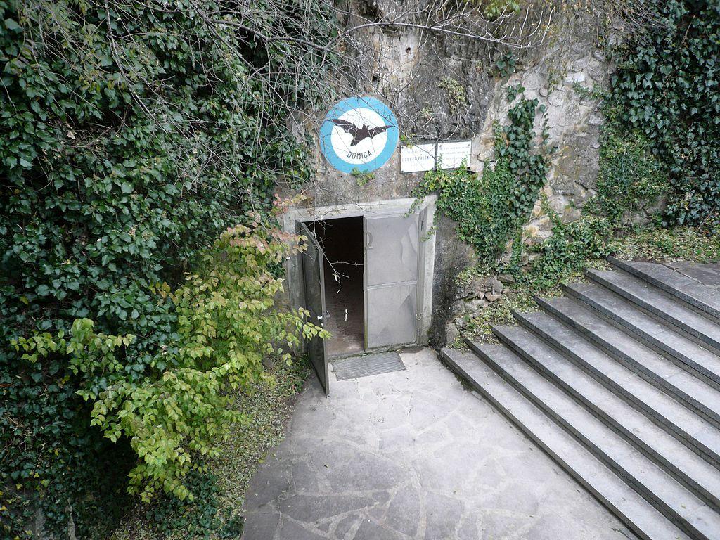 Východ z jaskyne Domica