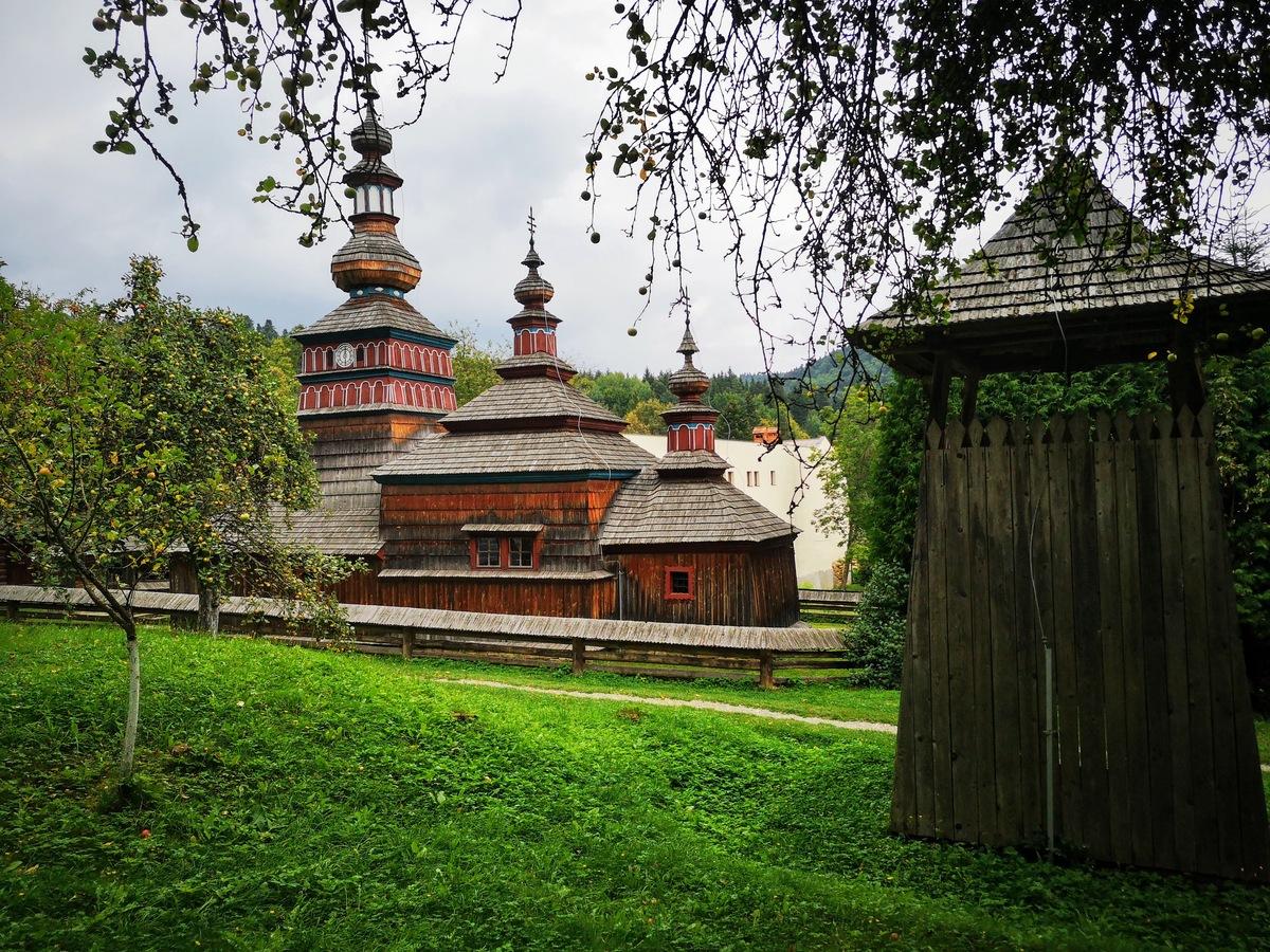 Kostol z Mikulášovej – Skanzen ľudovej architektúry v Bardejovských Kúpeľoch