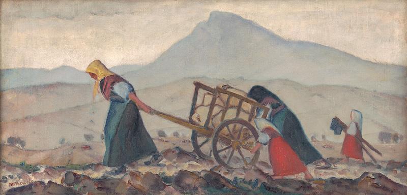 Olejomaľba, Jesenné dni od Martina Benku, 1929