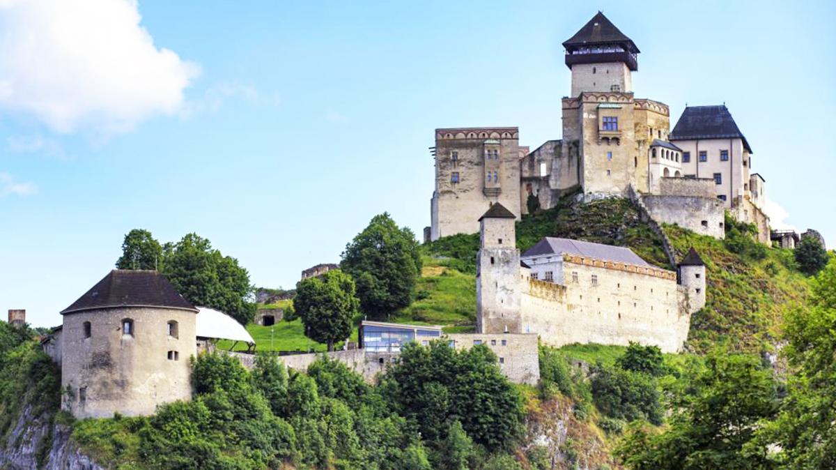 Matúšova veža je najstaršou a najvyššou vežou na Trenčianskom hrade