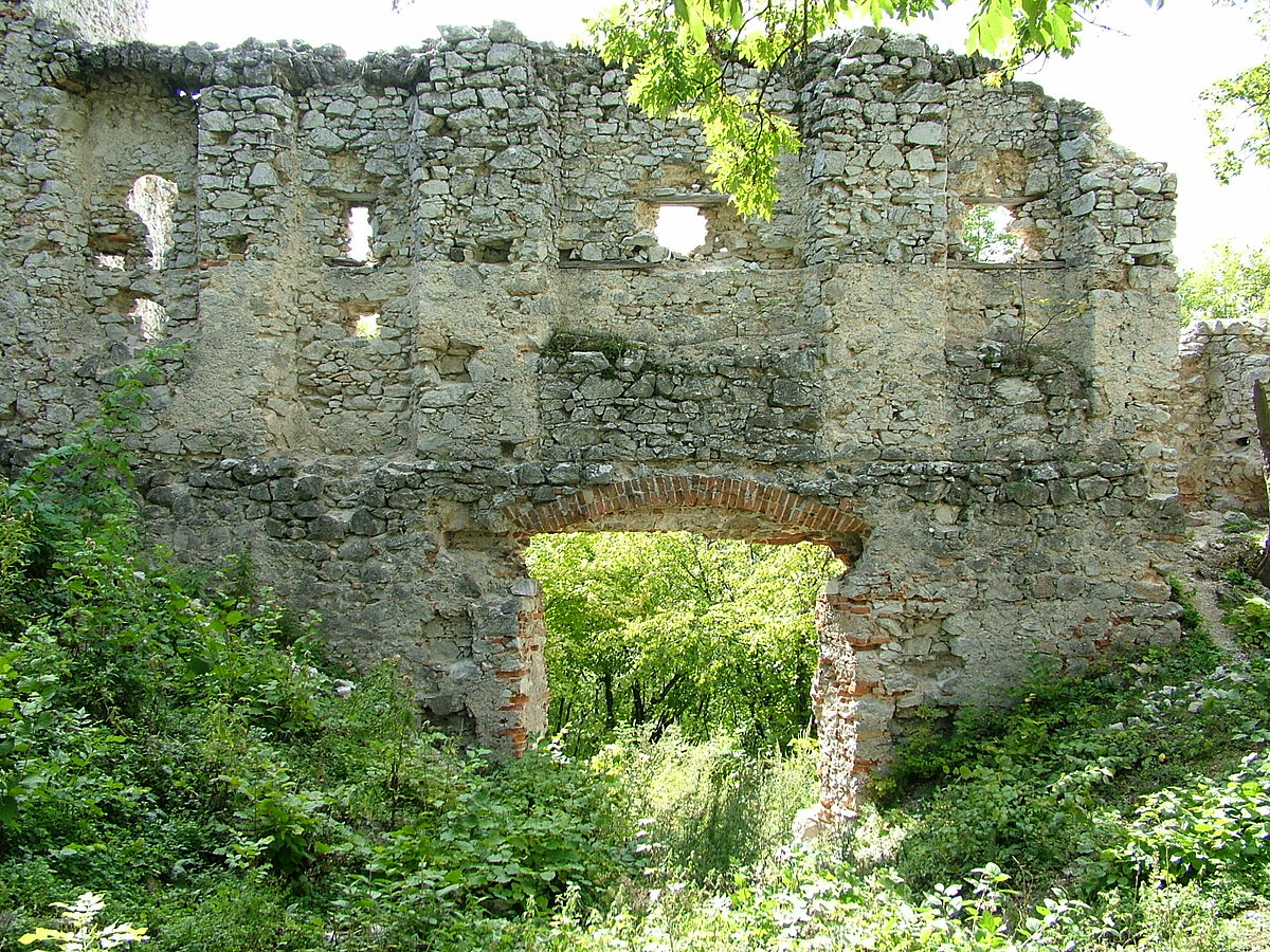Areál hradu
