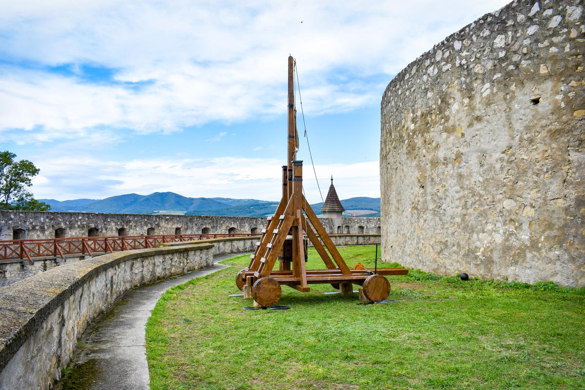 Trebuchet na Trenčianskom hrade