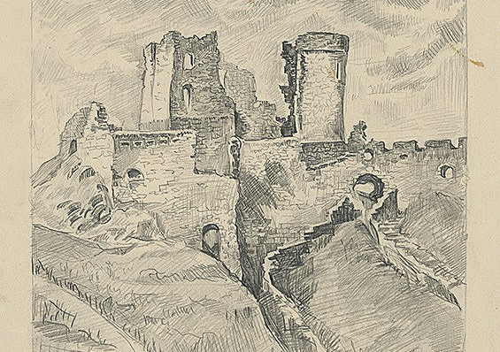 Kresba Eugen Kron - východoslovenská galéria