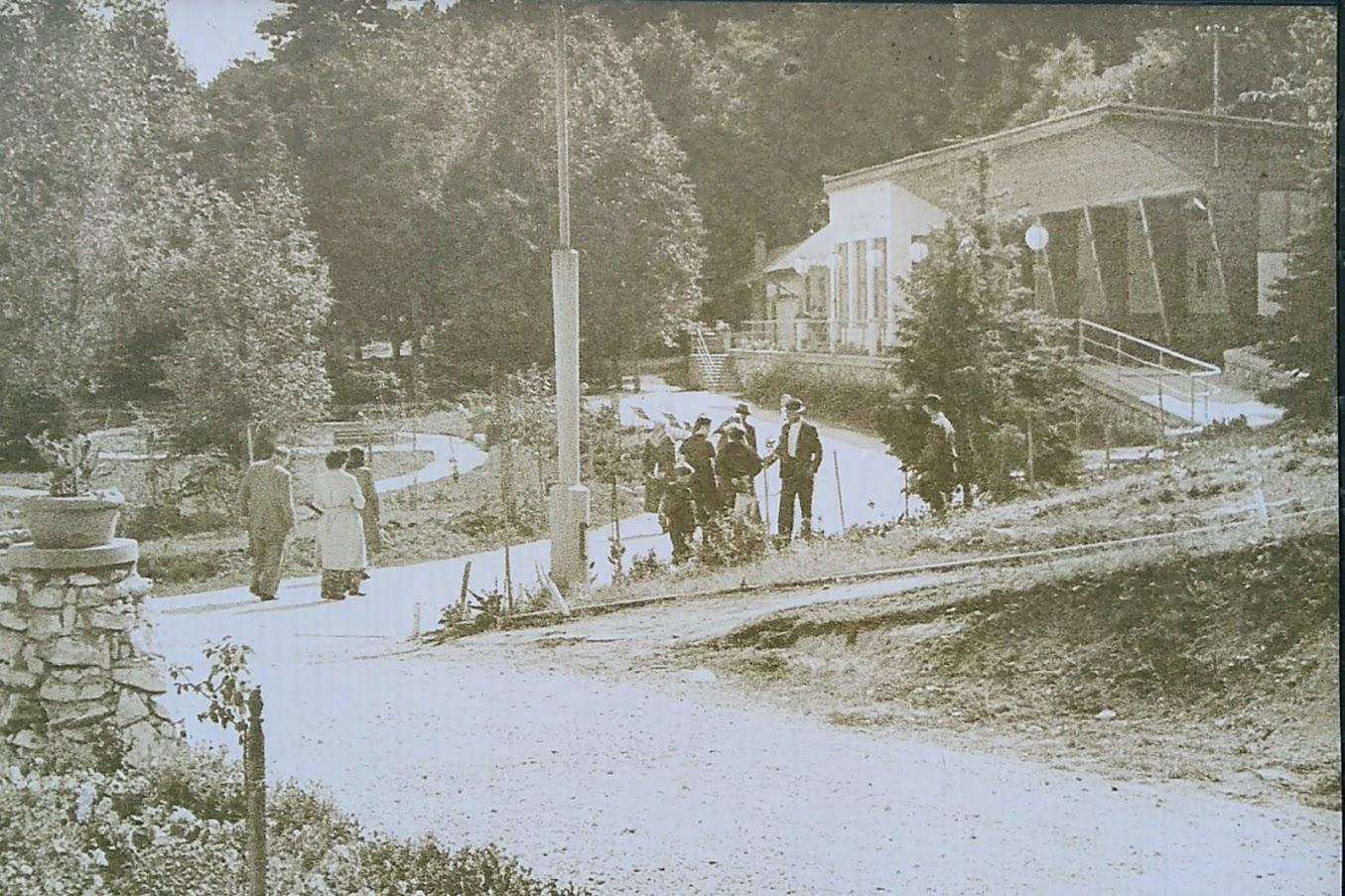 Historická fotografia Lesoparku Búroš