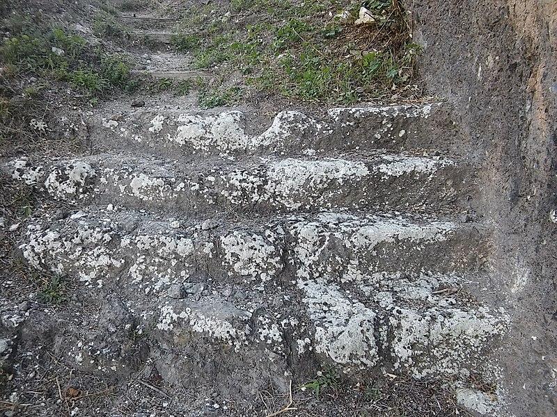 Schodisko na hrad Hajnáčka