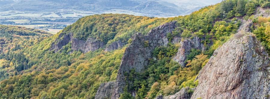 Kapitulské bralá – sopečné kopy