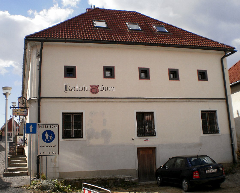 Katov dom v Bardejove
