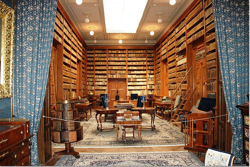 Knižnica v kaštieli Betliar