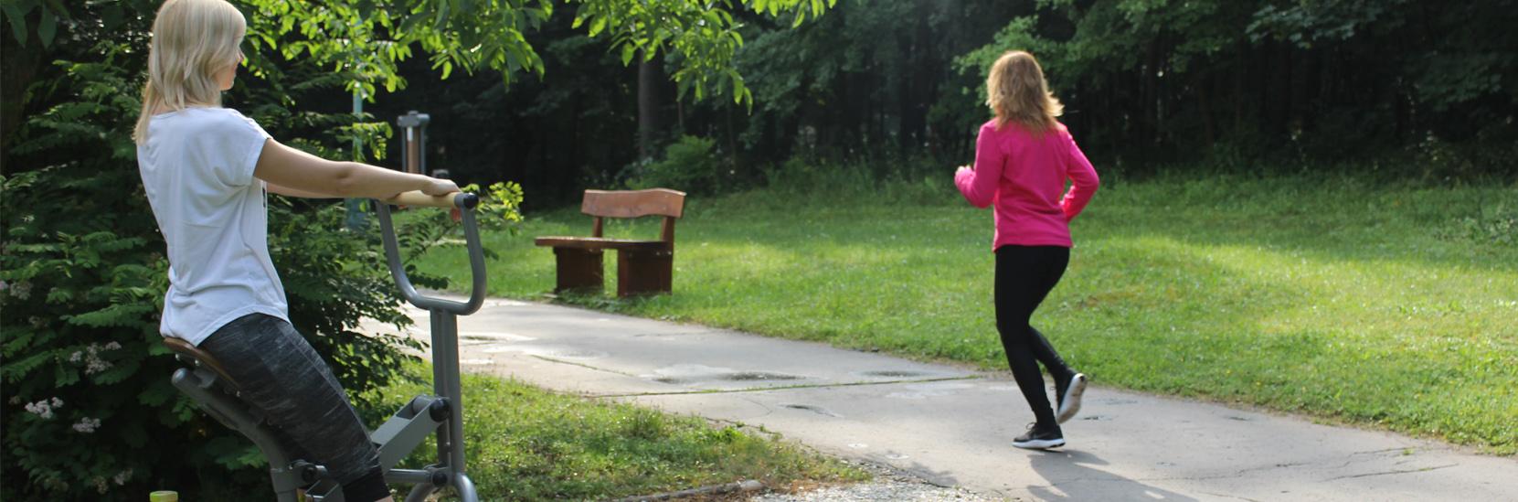 Kúpeľný chodník zdravia v lesoparku Búroš