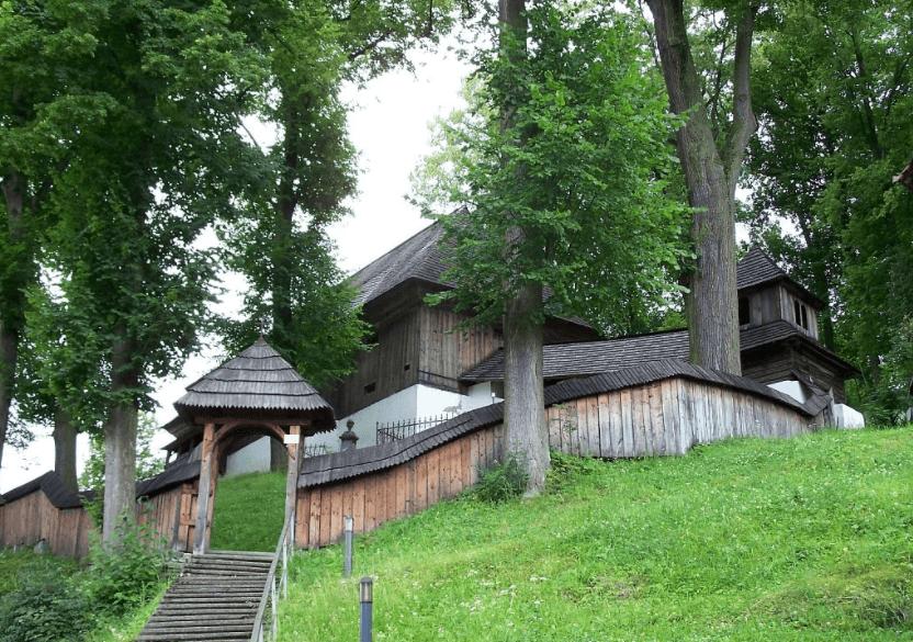 Drevený evanjelický artikulárny kostol