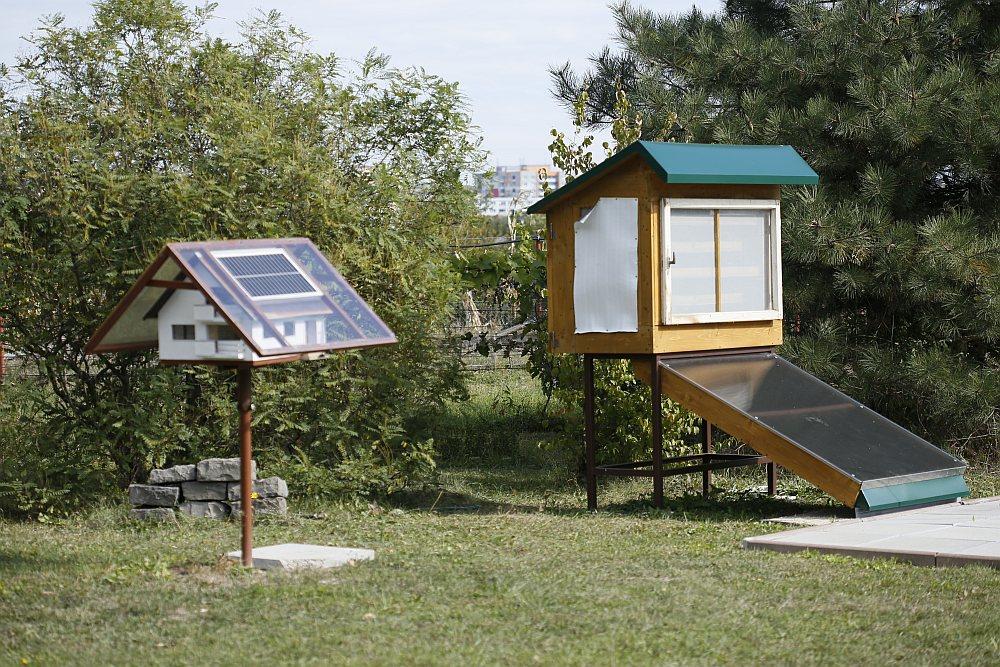 Sušička ovocia so slnečným pohonom v Astroparku