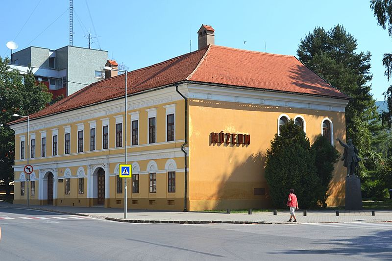 Budova Baníckeho múzea, kde sídli Historická expozícia