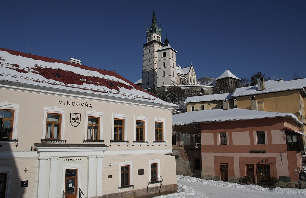 Budova mincovne v Kremnici