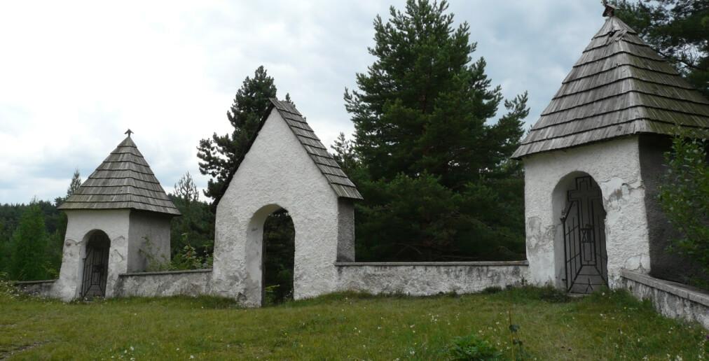 Kaplnky v priestoroch kalvárie
