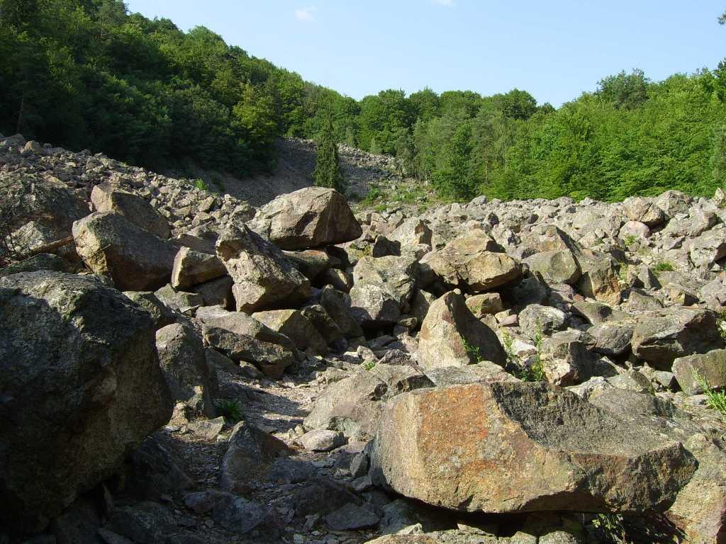 Pohľad na Kamenné more