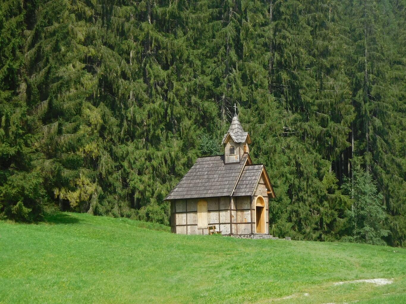 Lesnícky skanzen Vydrovo – kaplnka