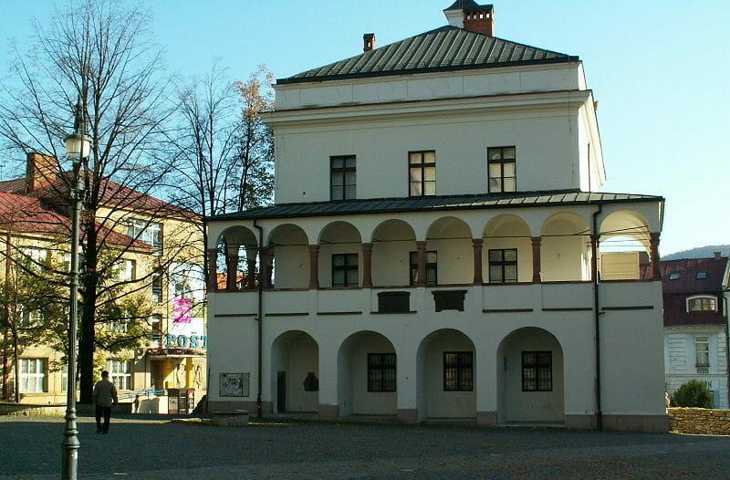 Radnica (pretórium) – areál hradu