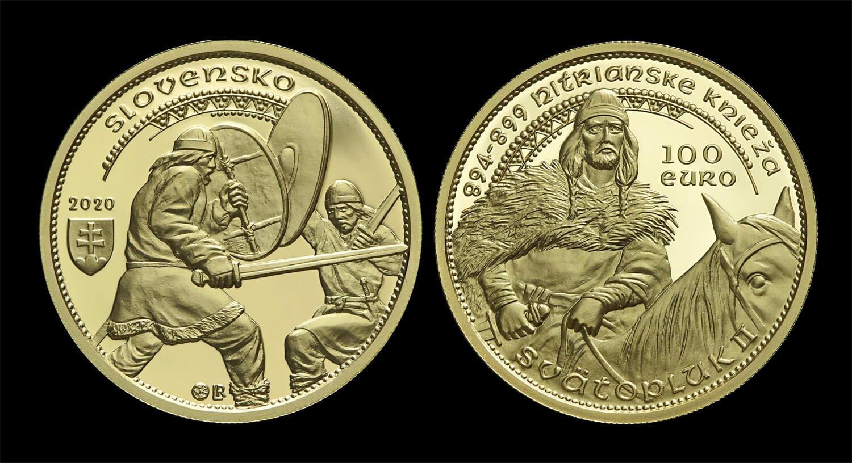 Pamätná minca Svätopluk II.