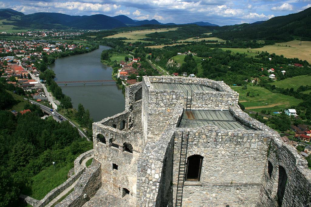Pohľad z veže, severný palác