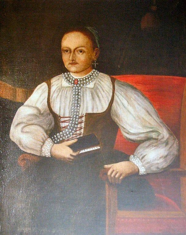 Portrét Žofie Bosniakovej z kostola v Tepličke nad Váhom