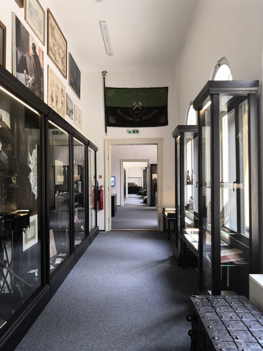 Interiér Baníckeho múzea v Rožňave