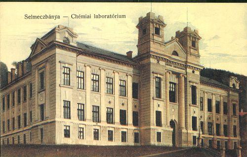 Bývalá budova laboratória Banskej a lesníckej akadémie v Banskej Štiavnici