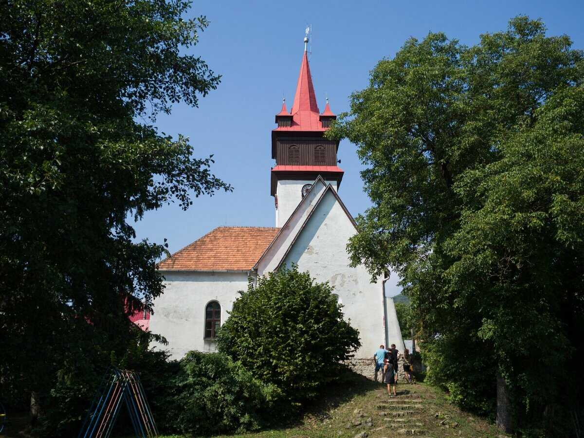 Evanjelický kostol a.v. v Rimavskom Brezove