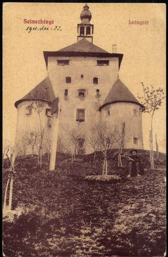 Historická fotografia Nového zámku