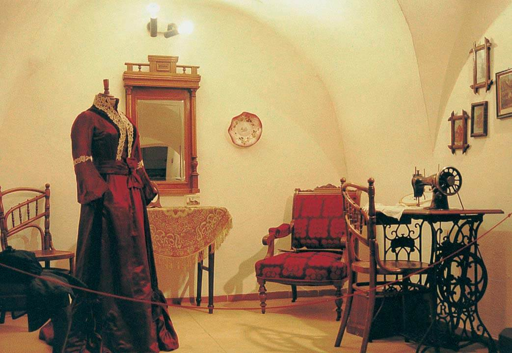 Brezno v premenách času, historická expozícia