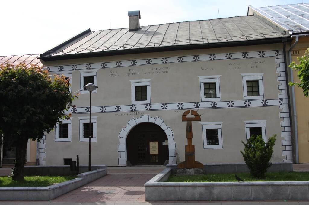 Meštiansky dom na námestí, sídlo historickej expozície múzea