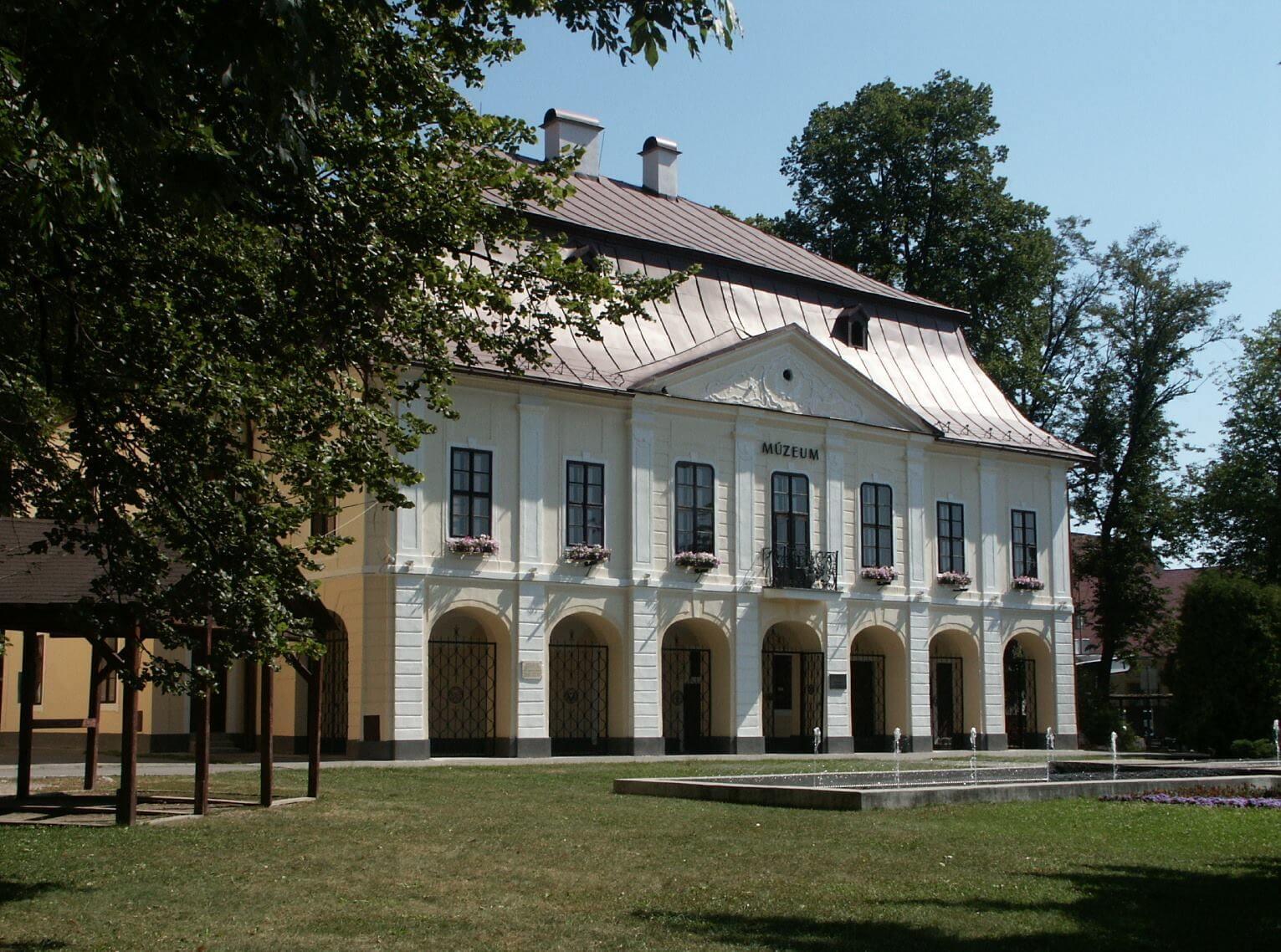 Horehronské múzeum, historická budova radnice