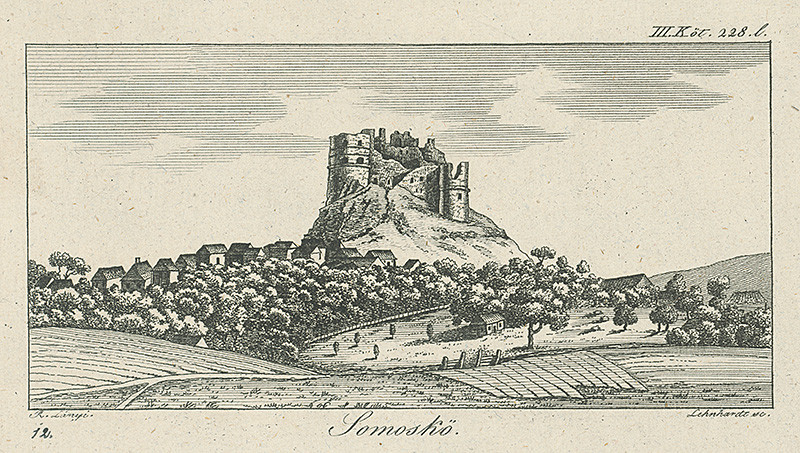 Samuel Lányi, Samuel Lenhardt, Hrad Šomoška, SNG, 1820–1840