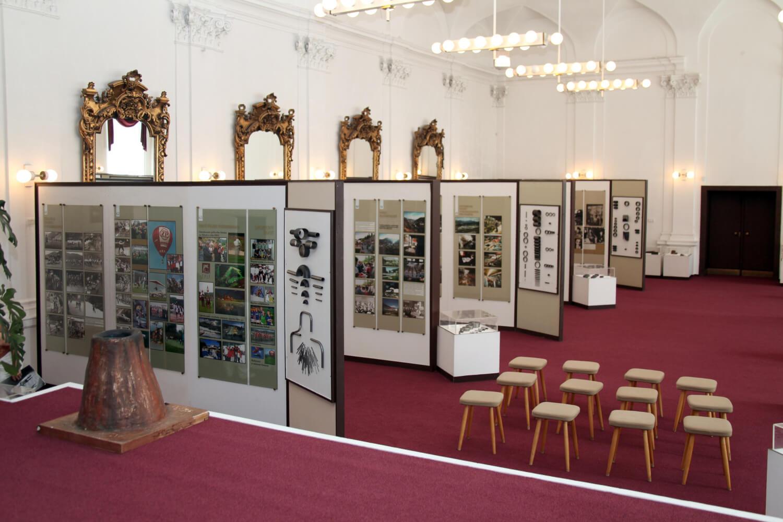 Interiér hutníckeho múzea