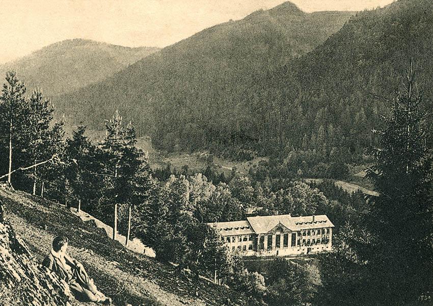 Kúpele Brusno v minulosti