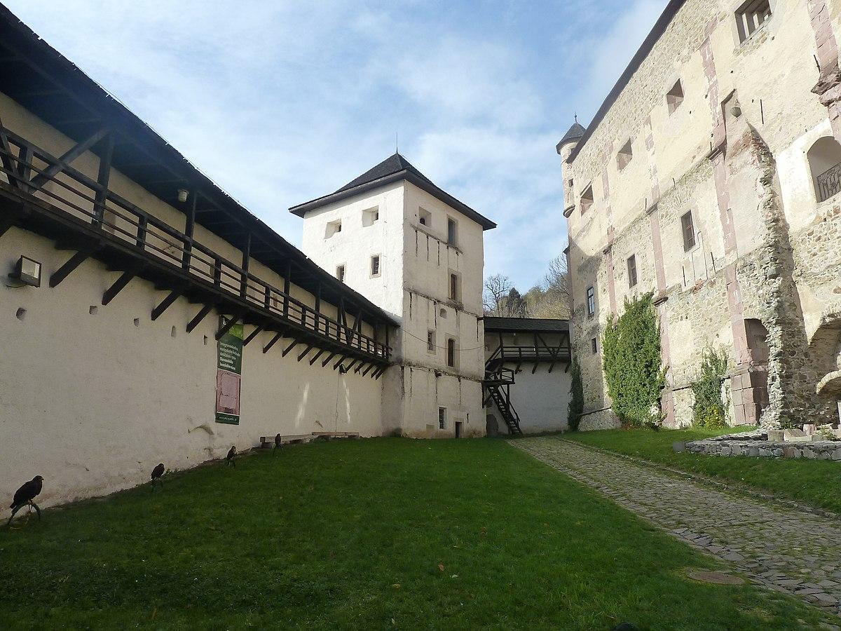 Nádvorie Starého hradu