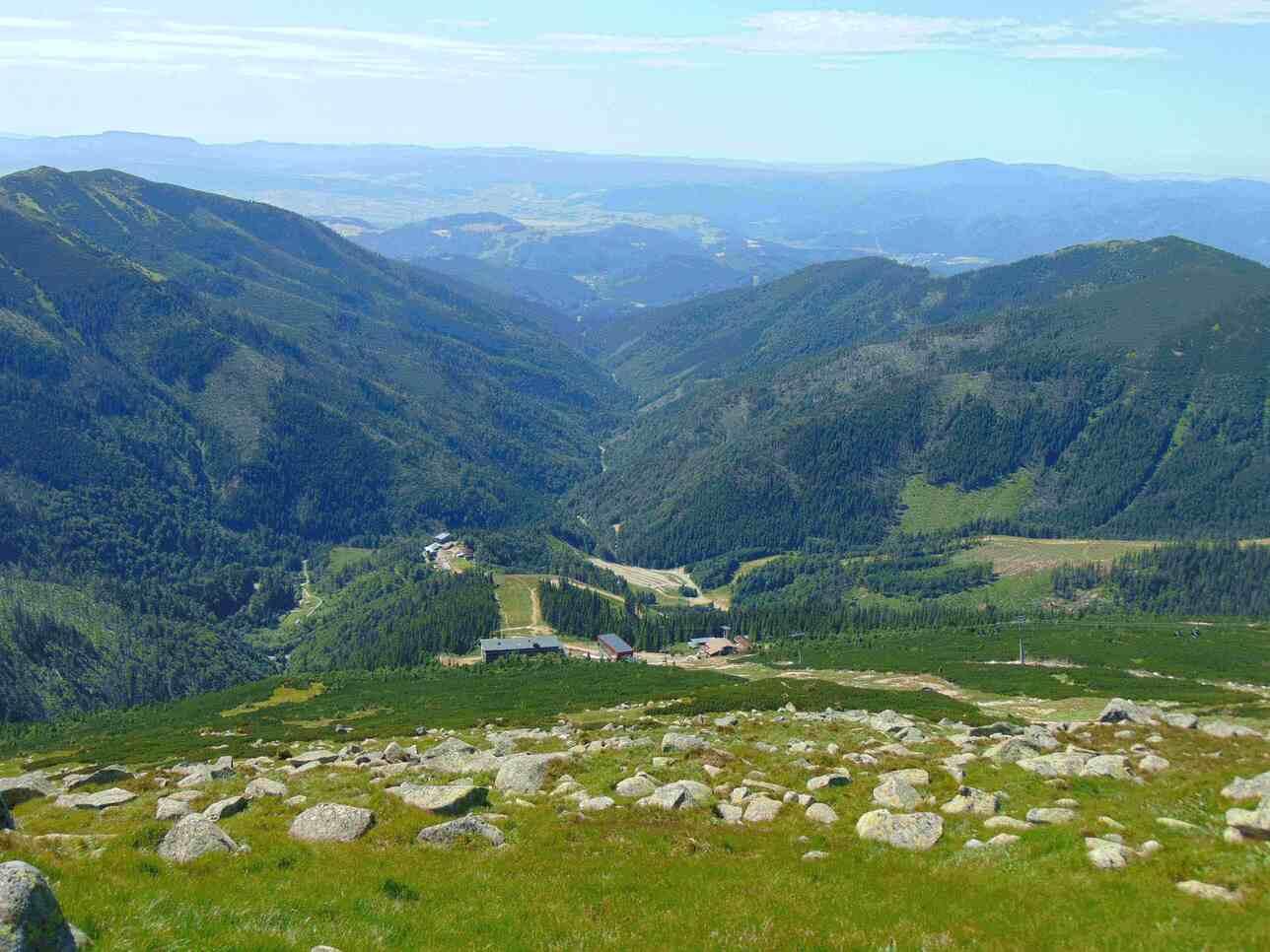 Pohľad z Chopku na Kosodrevinu