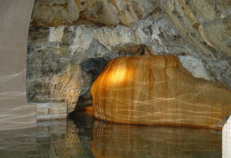 Jaskynný kúpeľ Parenica – interiér jaskyne