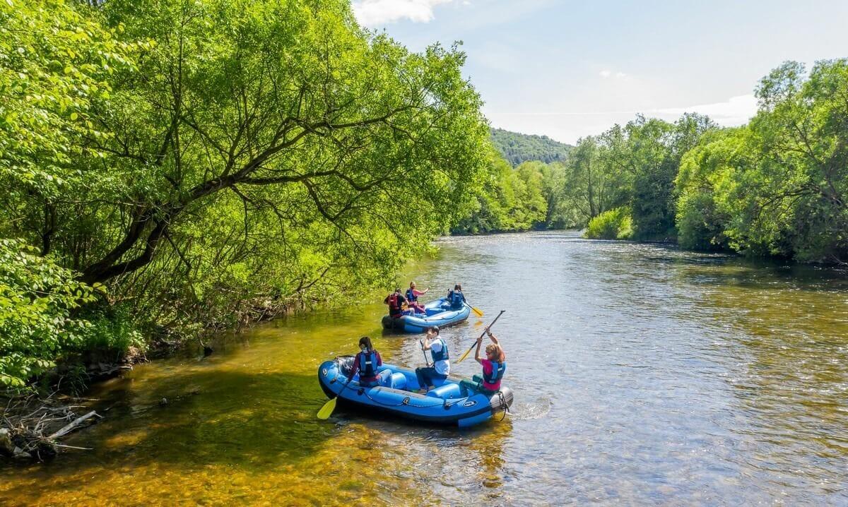 Splav Hrona-vodácky zážitok