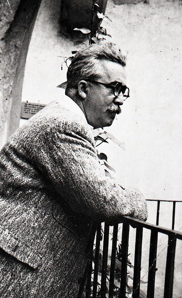 Prof. Vojtech Baker, 1935