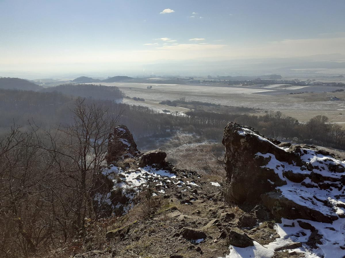 Vyhliadka na Kamennom Jankovi, skalné útvary