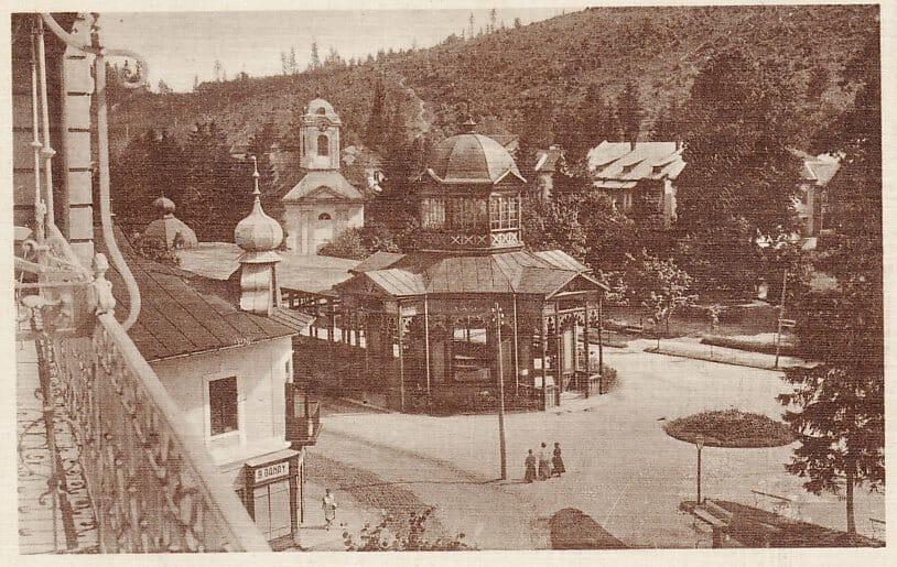 Historická fotografia kúpele Bardejov