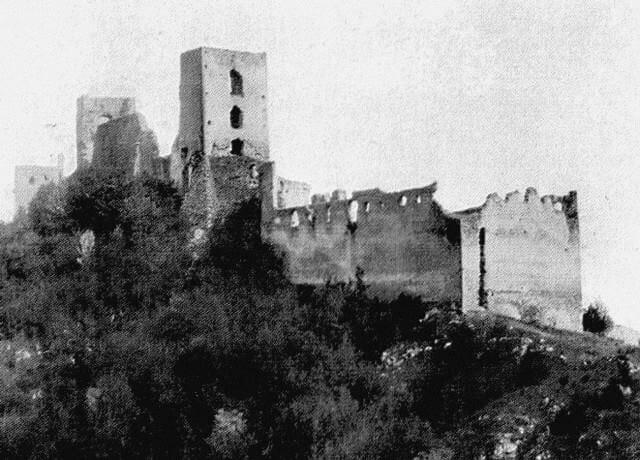 Hrad Dobrá voda – história z roku 1932