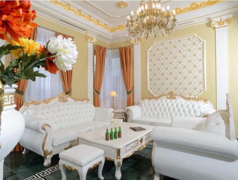 Kráľovský apartmán v Apartmánoch Royal Aphrodite Palace